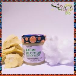 "BAUME DE COTON 100ml ""Huile de coton & Beurre de cacao"""
